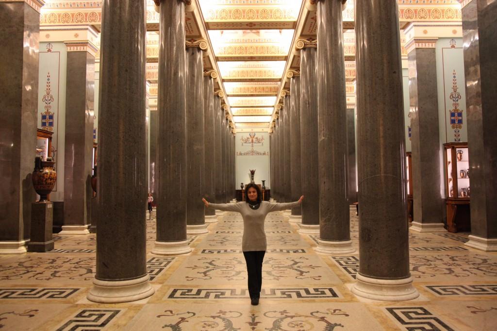 Zdjęcia:  Pałac Zimowy., Sankt Petersburg, Kolumny i statystka, ROSJA