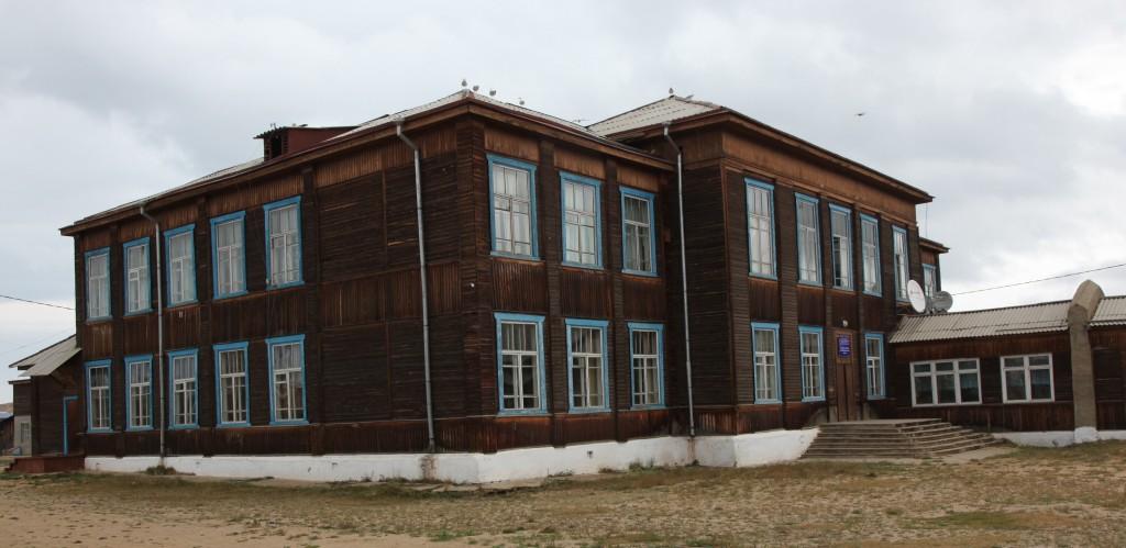 Zdjęcia: Wyspa Olchon, Bajkał, Architektura drewniana, ROSJA