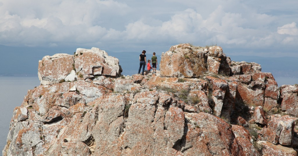 Zdjęcia: Wyspa Olchon, Bajkał, Piękny widok, ROSJA