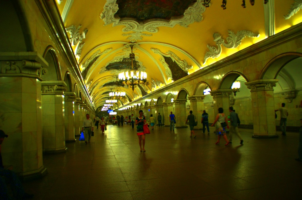 Zdjęcia: Moskwa, Moskwa, Metro, ROSJA