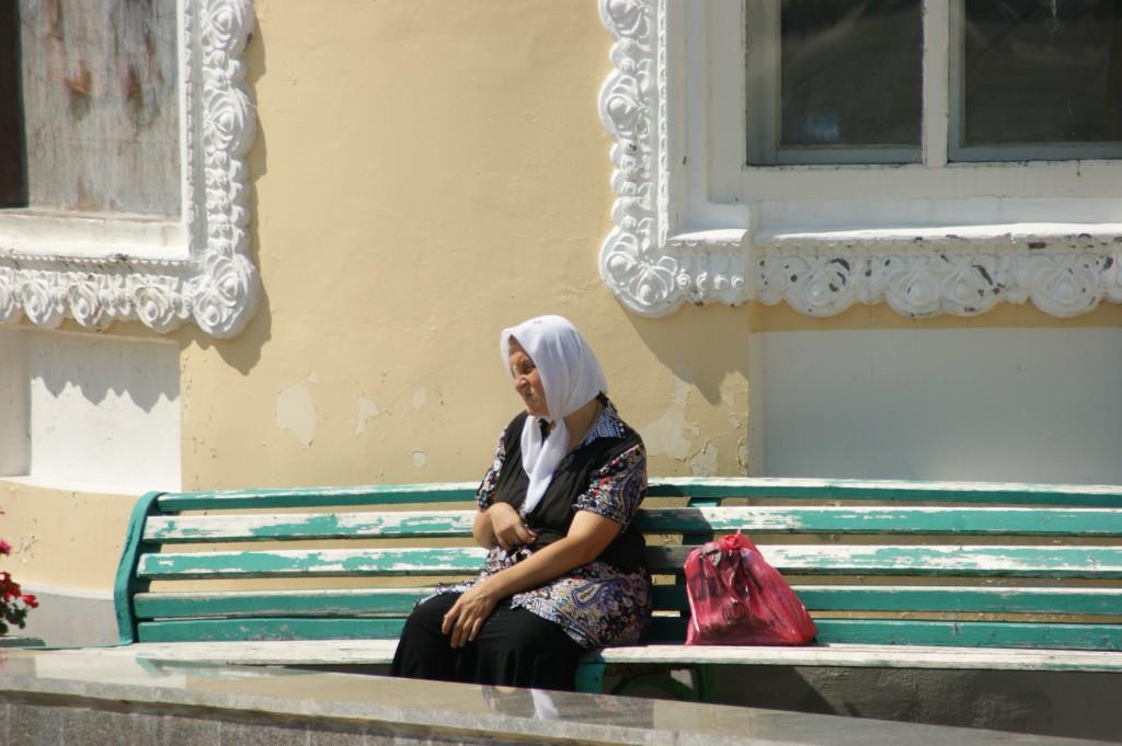 Zdjęcia: Okolice Moskwy, Okolice Moskwy, Ławeczka , ROSJA