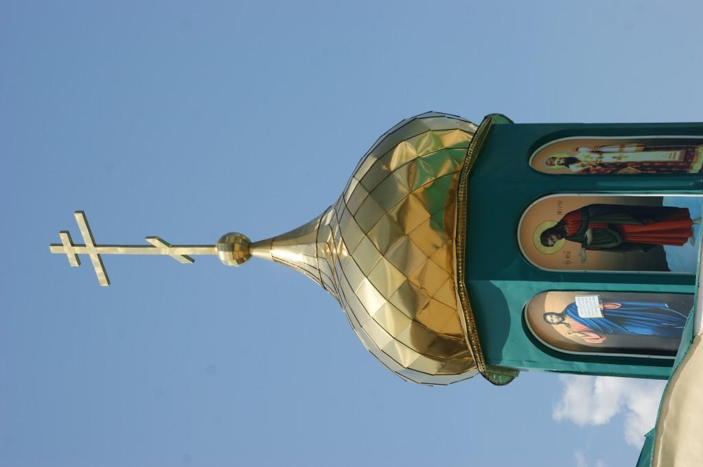 Zdjęcia: Okolice Moskwy, Okolice Moskwy, Kapliczka , ROSJA