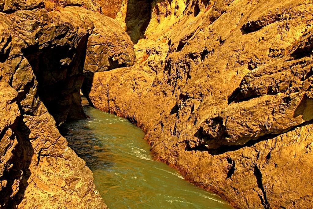 Zdjęcia: Czeczenia, płn. Kaukaz, Dolina Argunu, ROSJA
