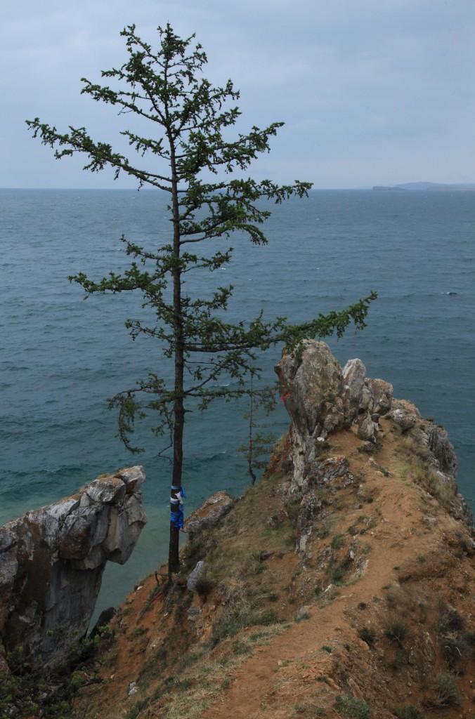 Zdjęcia: Olchon, Bajkał, Nad przepaścią, ROSJA