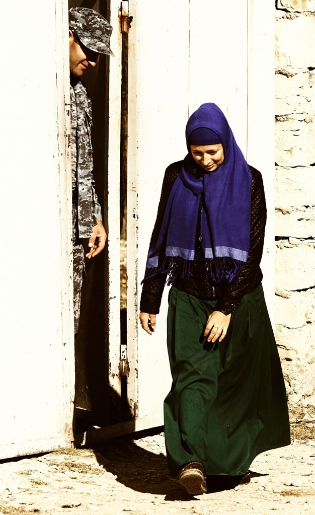 Zdjęcia: wioska w Dagestanie, płn. Kaukaz, Cnota skromności ;), ROSJA