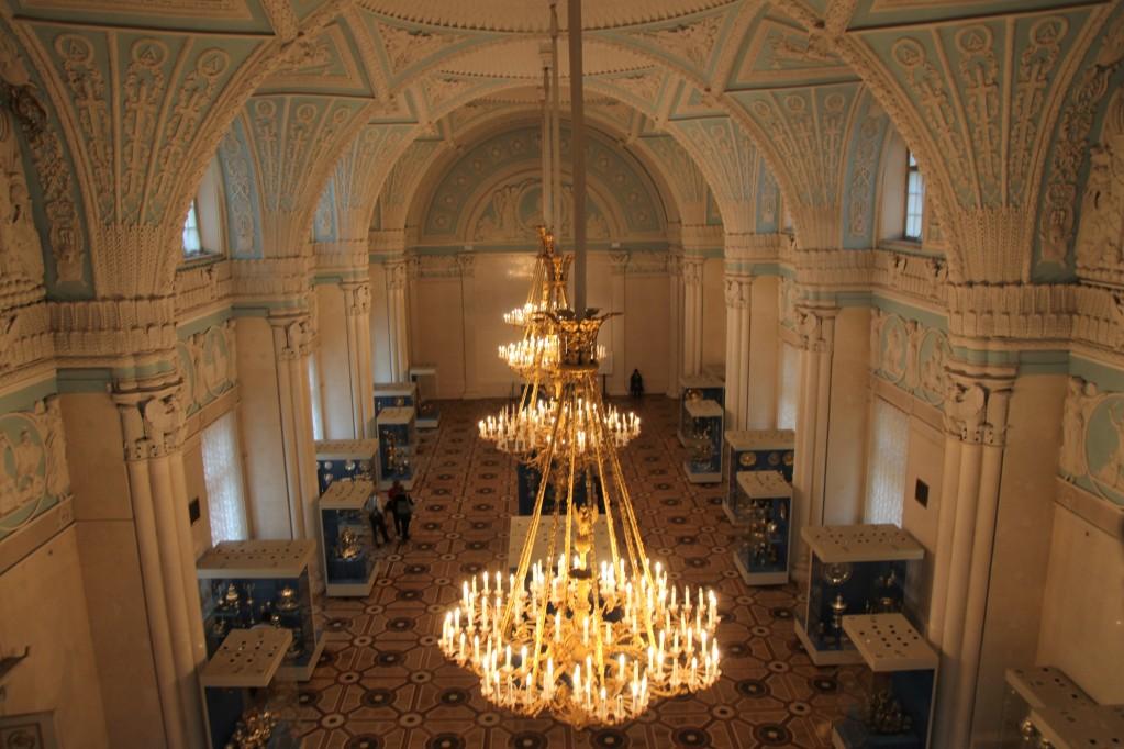 Zdjęcia: Pałac Zimowy, Sankt Petersburg, Sale i salony Ermitażu, ROSJA