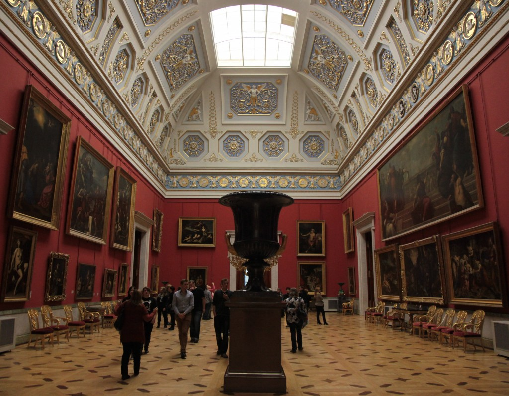 Zdjęcia: Ermitaż, Sankt Petersburg, Sale i salony Ermitażu, ROSJA