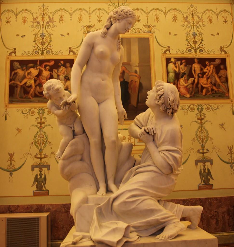 Zdjęcia: Ermitaż, Sankt Petersburg, Kobiety Antonio Canovy, ROSJA