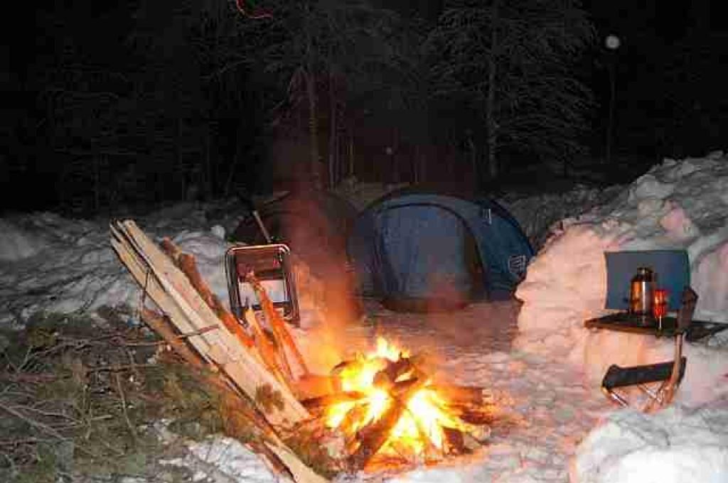 Zdjęcia: Umba okolice, Półwysep Kolski, Zimowy kemping, ROSJA