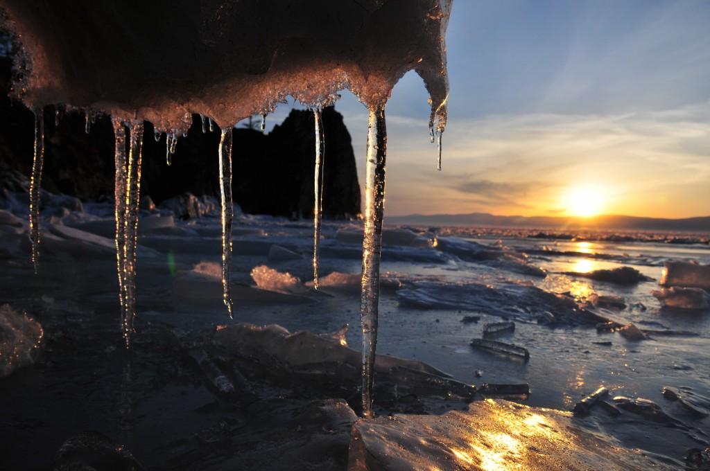 Zdjęcia: Jez.Bajkal, Wschodnia Syberia, Bajkal,marzec 2014., ROSJA