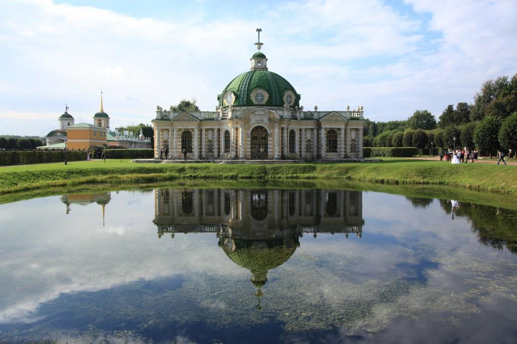 Zdjęcia: Kuskowo, Moskwa, Pałac Szeremietiewów, ROSJA
