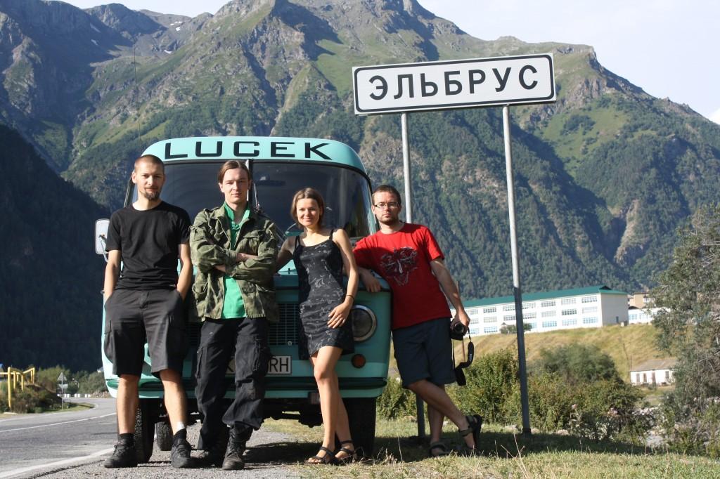 Zdjęcia:  Miejscowość Elbrus, Dolina Baksan, Ekipa Nysateam, ROSJA
