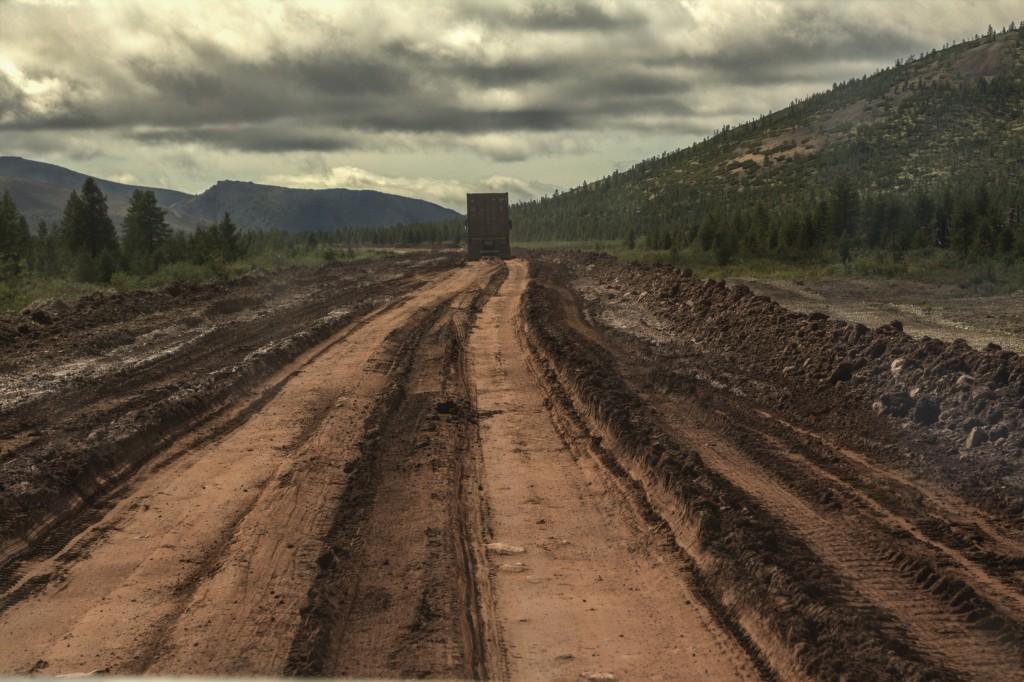 Zdjęcia: wsch Rosja, wsch. Rosja, Syberyjskie drogi w lecie..., ROSJA