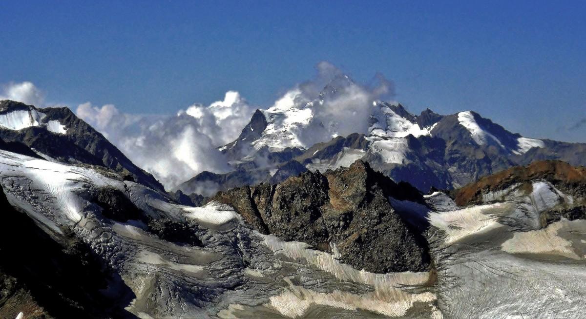 Zdjęcia: Elbrus, Kabardyno-Bałkaria, Lodowce Elbrusa, ROSJA