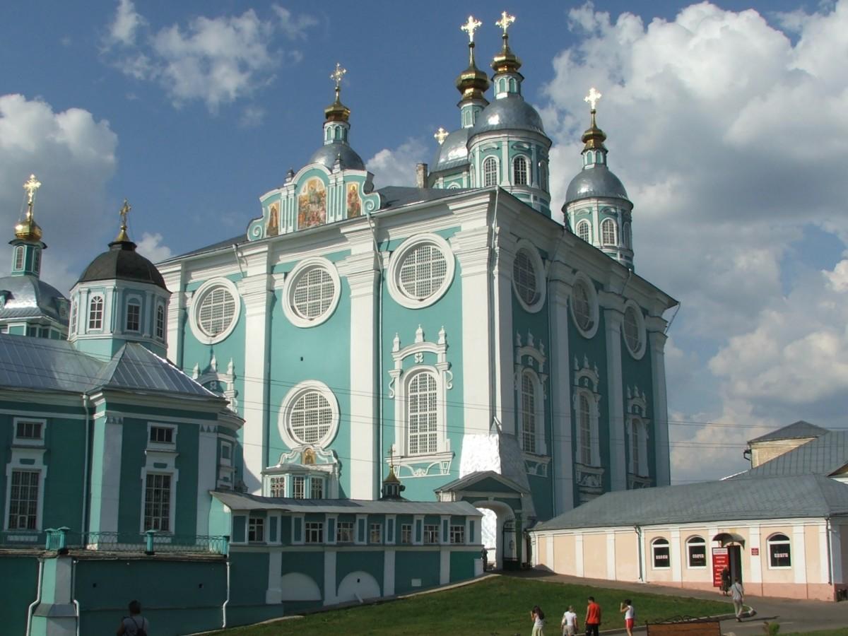 Zdjęcia: Smoleńsk, Sobór Zaśnięcia Matki Bożej, ROSJA