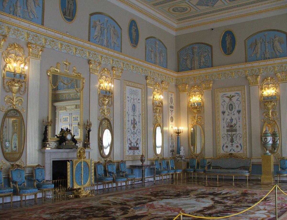 Zdjęcia: Kompleks parkowo-pałacowy Carskie Sioło, St. Petersburg, Puszkin, Salon arabeskowy , ROSJA