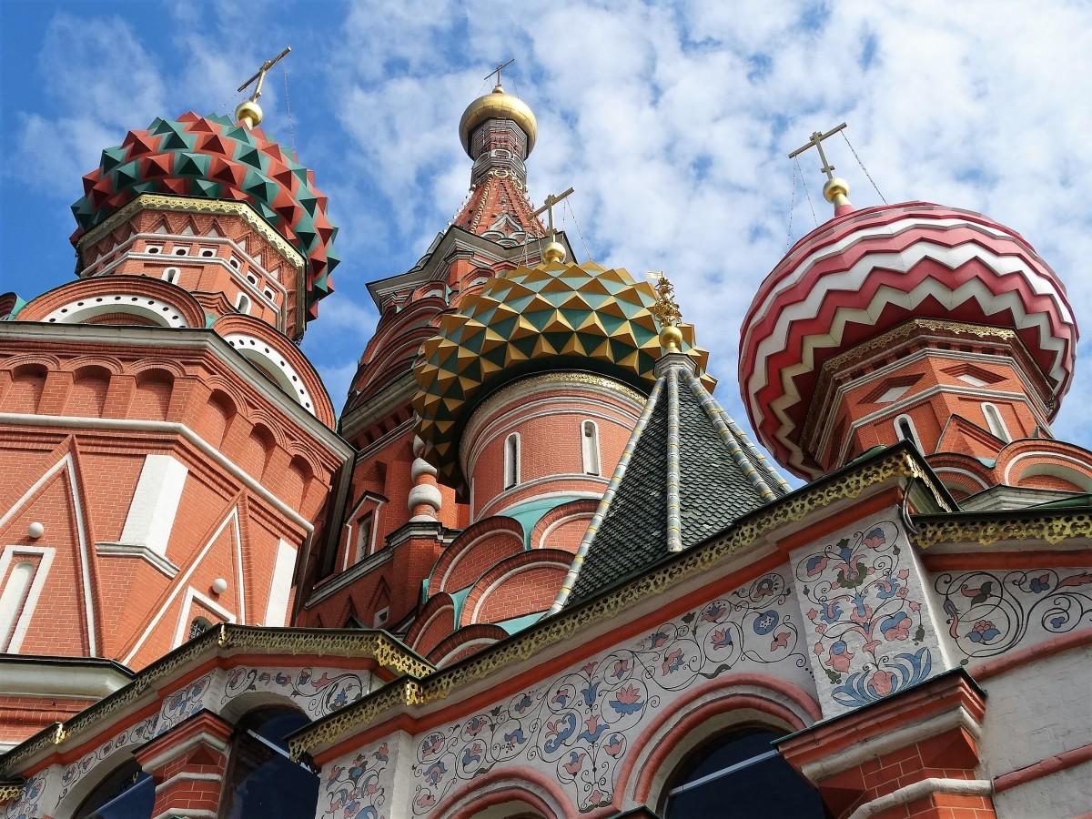 Zdjęcia: Sobór Wasyla Błogosławionego, Moskwa, Kolorowy zawrót głowy, ROSJA