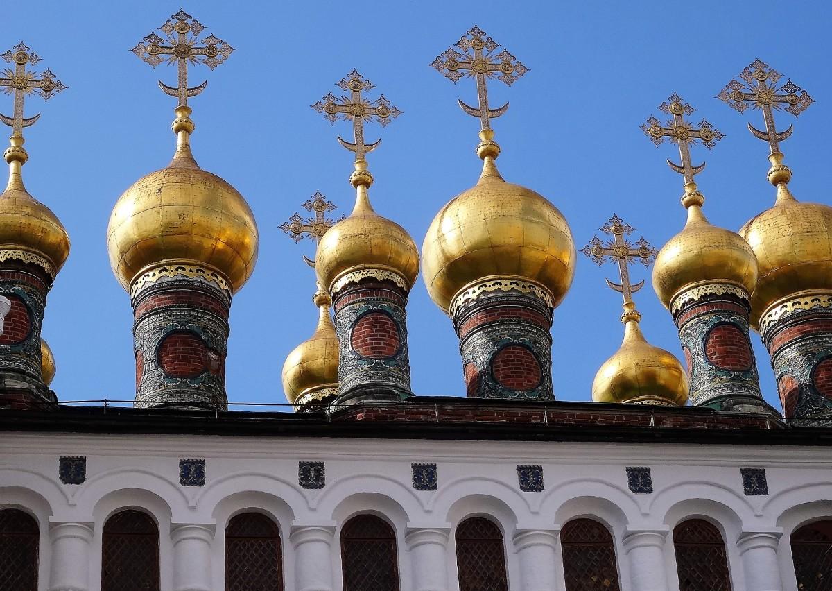 Zdjęcia: Kreml, Moskwa, Detal z moskiewskiego Kremla, ROSJA