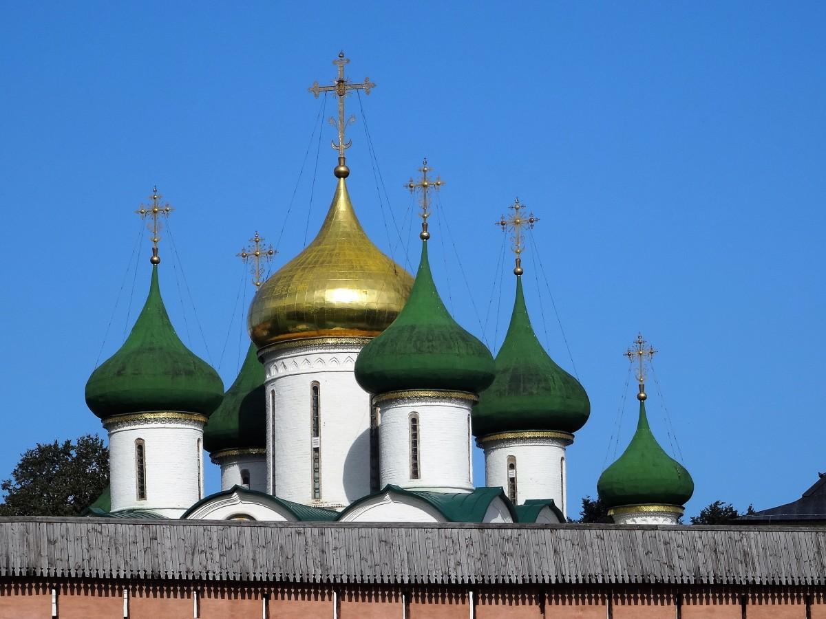 Zdjęcia: Suzdal, Złoty Pierścień Moskwy, Spacerkiem po Suzdalu - Spassko-Ewfimiewskij Sobór, ROSJA