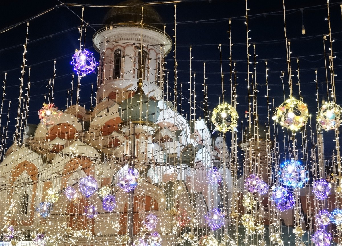 Zdjęcia: centrum, Moskwa, Nikolska, ROSJA