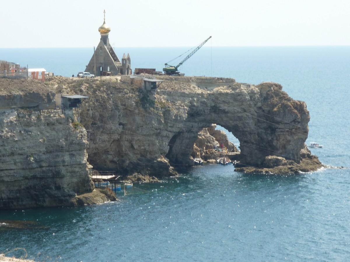 Zdjęcia: Dzangulskie Pobrzeze , Krym, Dzikie zakatki Krymu, ROSJA