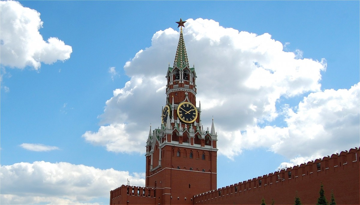 Zdjęcia: Moskwa, Moskwa, Baszta Spasska, ROSJA