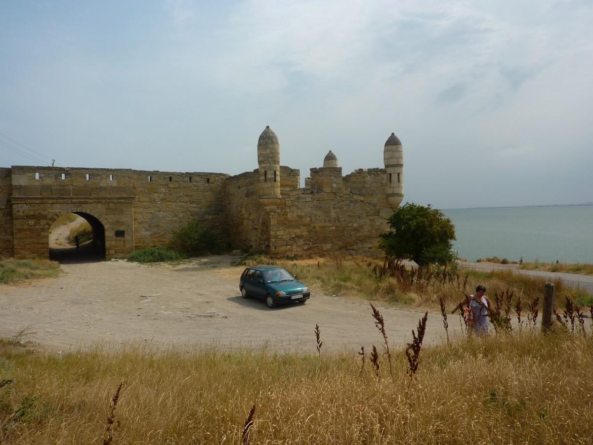 Zdjęcia: Ruiny twierdzy rzymskiej w Kerczu, Krym, Samochodem na Krym, ROSJA