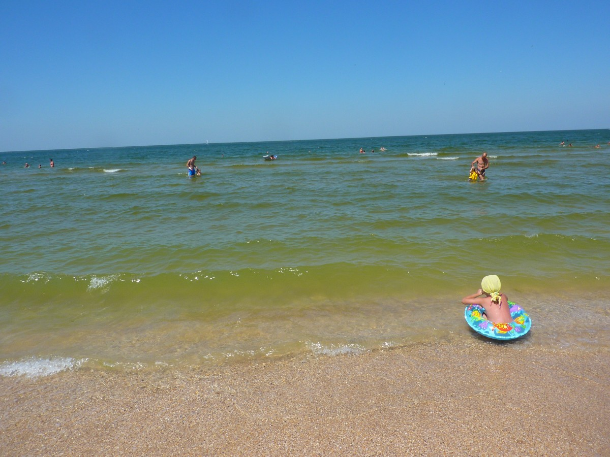 Zdjęcia: Szczolkino, Krym, Krymskie plaze , ROSJA