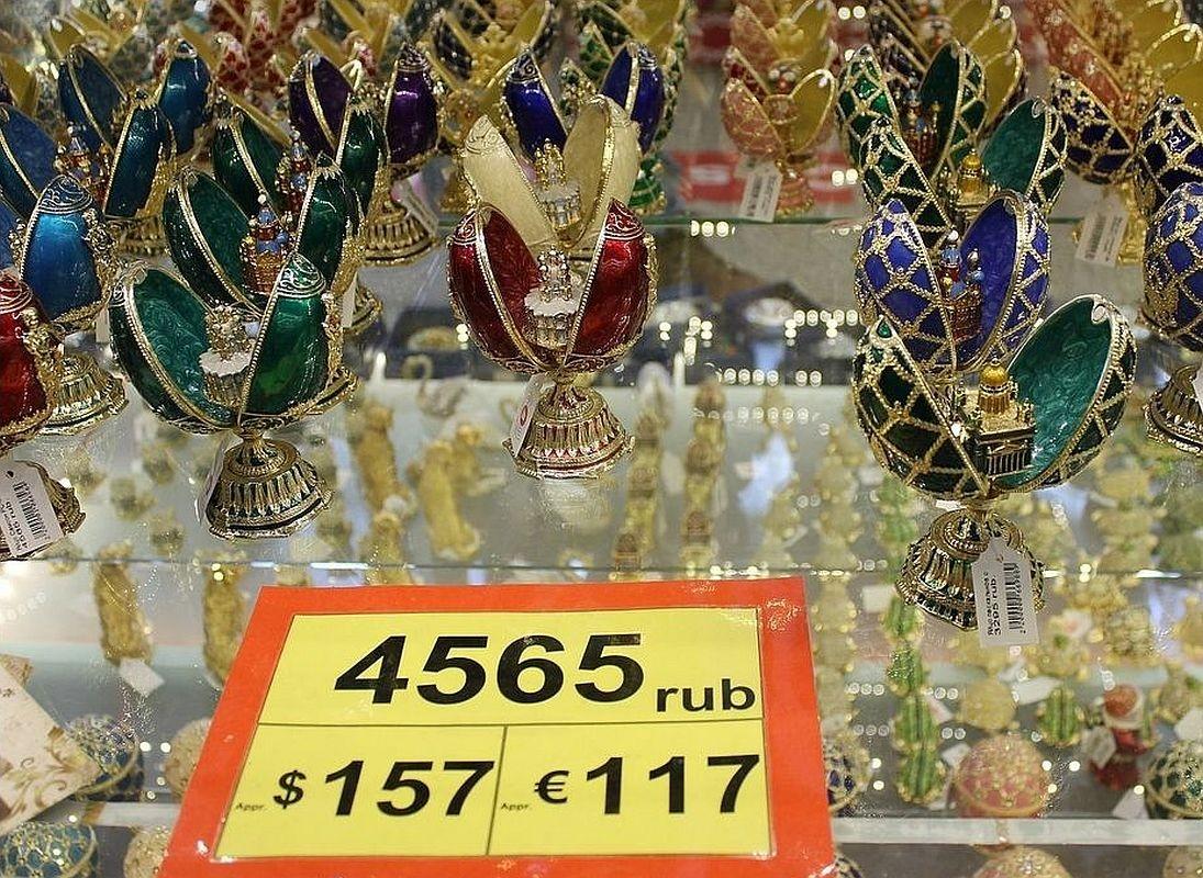 Zdjęcia: Slklep z pamiątkami, Petersburg, Petersburg. Market z pamiątkami., ROSJA