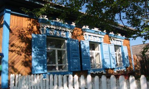 Zdjecie ROSJA / Zabajkale / w odwiedzinach u Tunkińskich  Polaków / syberyjskie okna