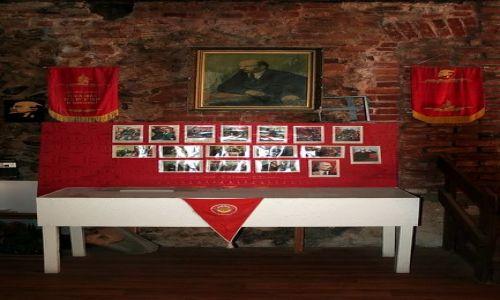 ROSJA / Obwód Kaliningradzki / Jantarnyj / Tęsknota za komunizmem w Rosji tli się nadal
