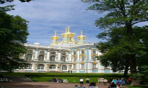 Zdjecie ROSJA / miasto -sankt Petersburg / Pałac / Jeden z pałaców