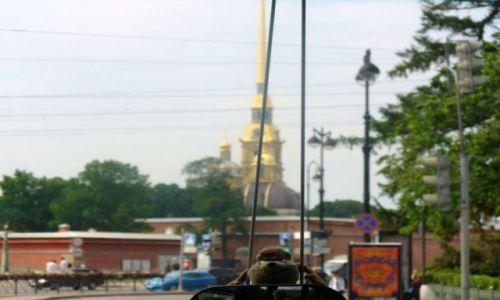 Zdjęcie ROSJA / miasto -sankt Petersburg / miasto / Ogólny widok na cerkiew