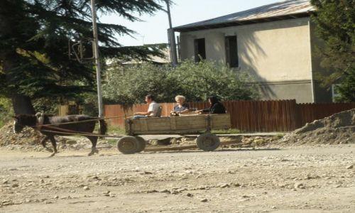 ROSJA / Abchazja / Pograniczne miasto Gali / Gali taxi