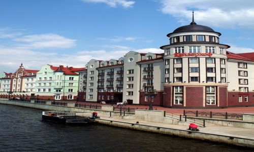 ROSJA / Obwód Kaliningradzki / Kaliningrad / Nadbrzeże