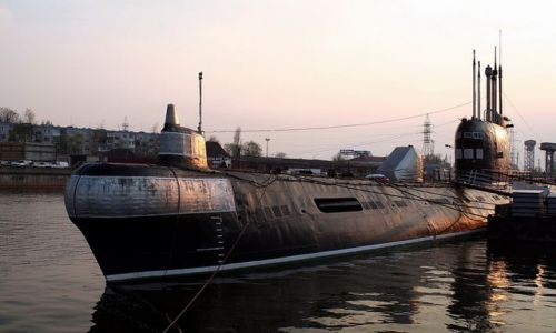 ROSJA / Obwód Kaliningradzki / Kaliningrad / Łódź podwodna