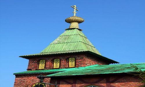 ROSJA / Obwó Kaliningradzki / Zelenogradsk / Cerkiew