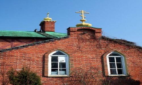 ROSJA / Obw� Kaliningradzki / Zelenogradsk / Front cerkwi