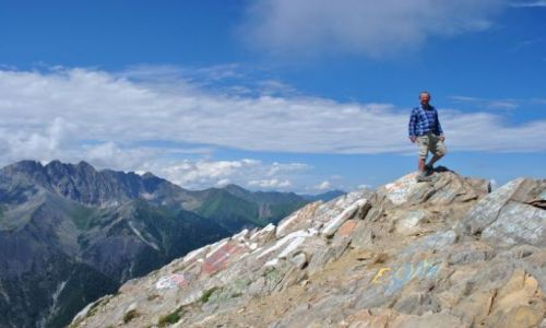 Zdjecie ROSJA / Syberia, góry Sajan / okolice Arszanu / góra Miłości (Pik Ljubwi)