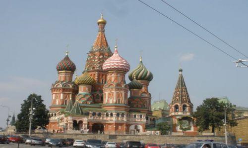 Zdjecie ROSJA / Moskwa / Plac Czerwony / spełnione marzenie