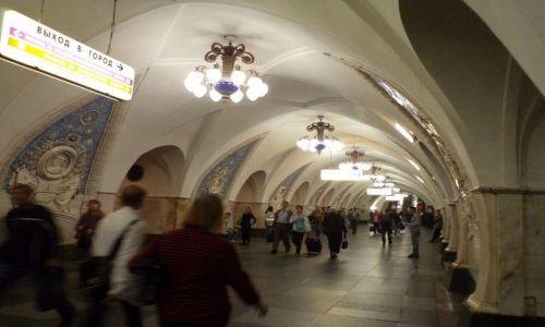 Zdjęcie ROSJA / Moskwa / metro / moskiewskie metro