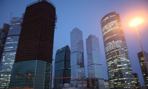 Zdjecie ROSJA / Moskwa / Moskwa City / wiezowce w Moskwa City