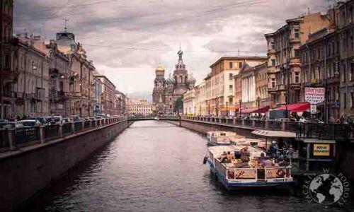 ROSJA / - / Sankt Petersburg / Kanały St Petersburga