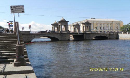 Zdjecie ROSJA / Leningradskaja Obłast  ;-) / St. Petersburg -nadberezhna Reki Fontanki / St. Petersburg
