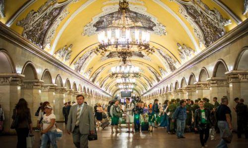 ROSJA / - / Moskwa / Moskiewskie metro