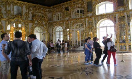 Zdjęcie ROSJA / - / Carskie Sioło / Carskie Sioło Wielki Pałac - wnętrze