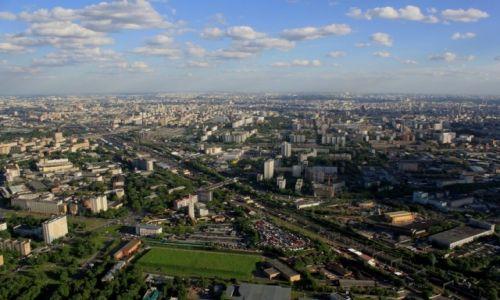 Zdjecie ROSJA / Moskwa / Moskwa / Wygląd na Moskwę z Wieżi telewizyjney Ostankino