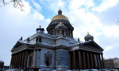 Zdjecie ROSJA / Północno-Zachodni Okręg Federalny  / Sankt Petersburg / Sobór świętego Izaaka Dalmatyńskiego