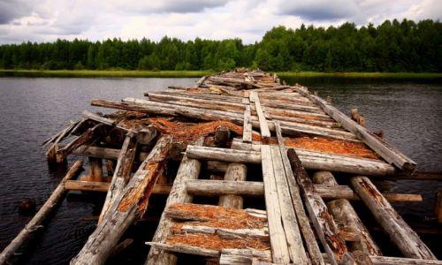 Zdjęcie ROSJA / płn-zach Rosja / Karelia / Przeprawa - dosłownie...i w przenośni :)