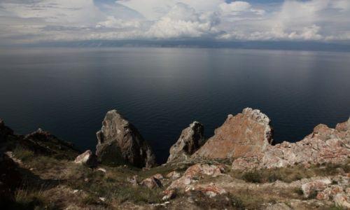 Zdjecie ROSJA / Jezioro Bajkał / Wyspa Olchon / Sagan-Chuszun, Przylądek Trzech Braci